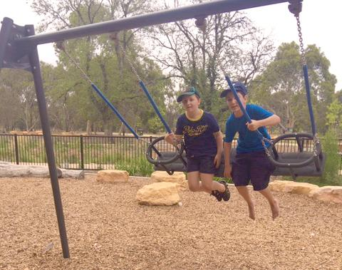 Boys On The Swing
